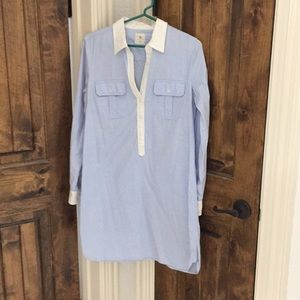 GAP button-up t-shirt dress